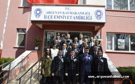 ARGUVAN'DA TÜRK POLİS TEŞKİLATININ 171. YILI KUTLANDI