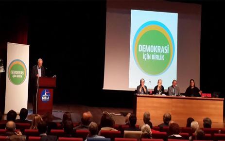 DEMOKRASİ İÇİN BİRLİK BULUŞMASI'NIN SONUÇ BİLDİRGESİ