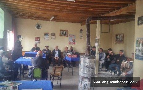 ARGUVAN'DA MİLLİ TARIM PROJESİ  ANLATILIYOR