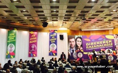 HDP'NİN YENİ EŞ GENEL BAŞKANI SERPİL KEMALBAY OLDU