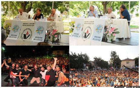 12. Uluslararası Arguvan Türkü Festivali yapıldı.