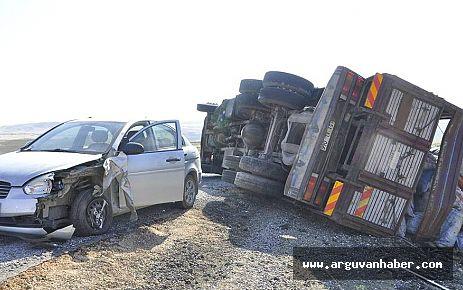 Arguvan'da Trafik Kazası
