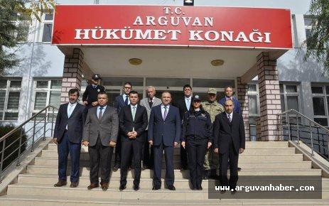 Malatya Valisi Ali Kaban, Arguvan'ı Ziyaret Etti