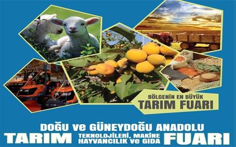 12 Tarım Fuarı 11 Nisan'da Malatya'da açılıyor