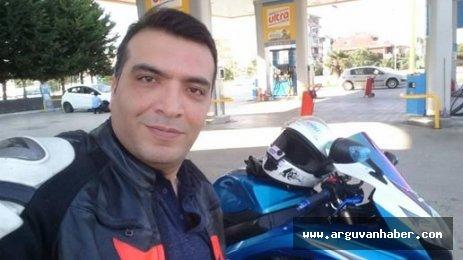 ARGUVAN MERKEZDEN UMUT ŞATIR MOTOSİKLET KAZASINDA HAYATINI KAYBETTİ