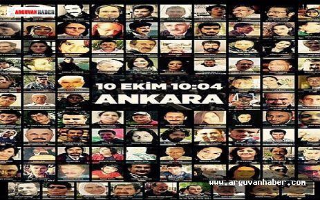 10 Ekim Ankara Katliamı'nda yitirilenler her yerde anıldı