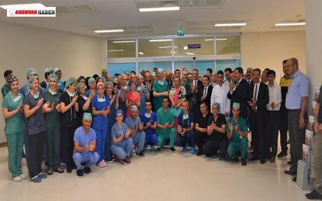 Malatya'da Aynı Anda 5 Hastaya Karaciğer Nakil Operasyonu Başarıyla Tamamlandı