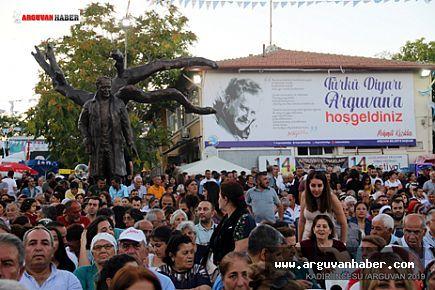14. Uluslararası Arguvan Türkü Festivali yapıldı.