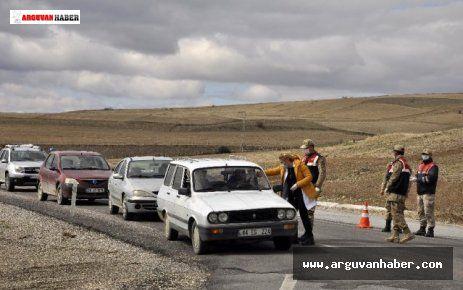 ARGUVAN'DA KORONOVİRÜS DENETİMLERİ ARTIRILDI