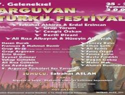 ARGUVAN 7. TÜRKÜ FESTİVALİ YAPILDI.