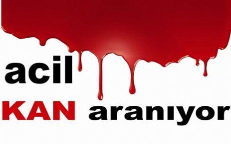 ACİL AB VEYA B RH NEGATİF KAN ARANIYOR- İSTANBUL