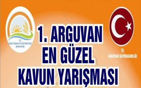 ARGUVAN'DA EN GÜZEL KAVUN YARIŞMASI YAPILACAK