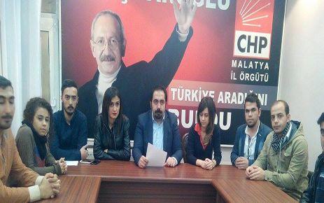 CHP MALATYA GENÇLİK KOLLARI ERDAL EREN'İ UNUTMADI