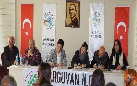 HDP ARGUVAN'DA GENİŞ KATILIMLI TOPLANTI YAPTI