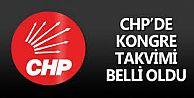 CHP#039;DE KONGRE TAKVİMİ BELLİ OLDU