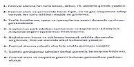 ARGUVAN KAYMAKAMLIĞI İLK DEFA FESTİVALDE UYULMASI GEREKEN KURALLARI AÇIKLADI