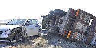 Arguvan#039;da Trafik Kazası
