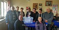 CHP Arguvan mahallelerinde demokratik yöntemle delege seçimi yapıyor.