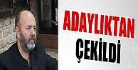 Arguvan Vakfı yönetimine aday olan Mustafa Yücel adaylıktan çekildiğini açıkladı