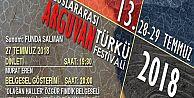 ARGUVAN TÜRKÜ FESTİVALİ 28-29 TEMMUZDA