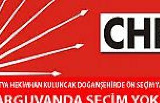 CHP DOĞANŞEHİRDE ÖN SEÇİM (EĞİLİM YOKLAMASI)...