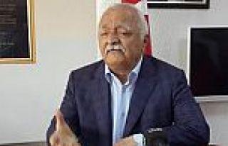 Malatya Gazeteciler Cemiyeti Başkanı Haydar Karaduman...
