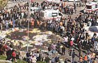 Ankara Gar Katliamı'nın Beşinci Yıl Dönümü