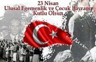 23 NİSAN ULUSAL EGEMENLİK VE ÇOCUK BAYRAMININ 101...
