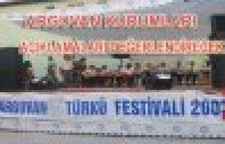 ARGUVAN VAKIF VE DERNEKLERİ FESTİVAL AÇIKLAMALARINI...