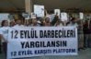 MALATYADA 12 EYLÜL DARBESİNİ YAPANLARA SUÇ DUYURUSU...