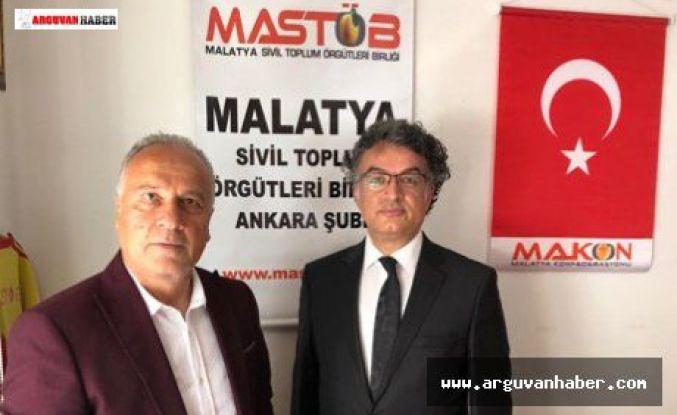MASTOB ANKARA ŞUBESİ GENEL KURULUNU YAPTI