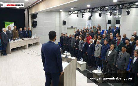 Arguvan'da Kurulan Kooperatifin İlk Genel Kurulu Yapıldı