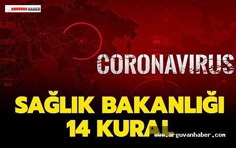 Korona Virüs Riskine Karşı 14 Kural