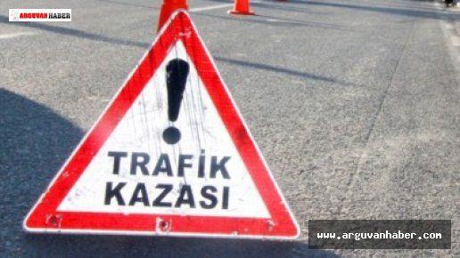 TRAFİK KAZASI BİR KİŞİ HAYATINI KAYBETTİ