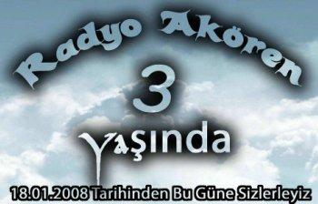 RADYO AKÖREN 3. YAŞINDA