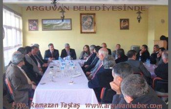 İL GENEL MECLİS ÜYELERİ ARGUVAN'A KONUK OLDULAR