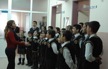 ARGUVANDA İLKÖĞRETİM OKULLARI YARIYIL TATİLİ ÖNCESİ ETKİNLİK YAPTILAR