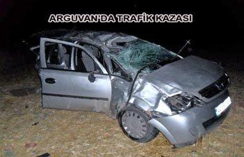 ARGUVAN'DA TRAFİK KAZASI 3 KİŞİ HAYATINI KAYBETTİ 3 KİŞİ YARALANDI