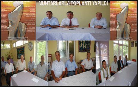 FESTİVAL KOMİTESİ  MUHTARLARLA TOPLANTI YAPTI