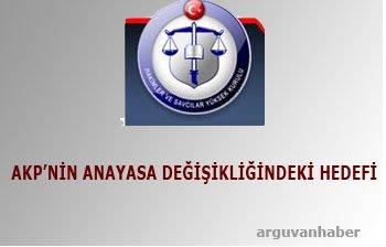 AKP\'NİN HEDEFİ YARGI