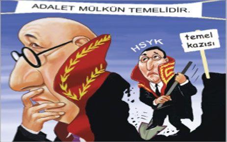 HSYK SİLAH OLARAK KULLANILIYOR