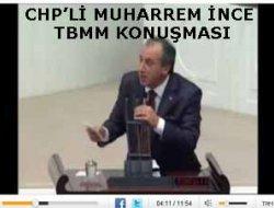 CHP\'Lİ MUHARREM İNCE TBMM KONUŞMA VİDEOSU