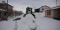 Arguvan#039;da kar yağışı etkili oldu