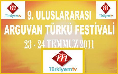 TÜRKÜ FESTİVALİ TÜRKİYEM TV'DEN CANLI YAYINLANACAK