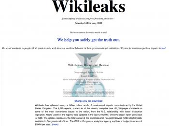 WikiLeaks DÜNYAYI SARSAN BELGELERİ AÇIKLAMAYA BAŞLADI