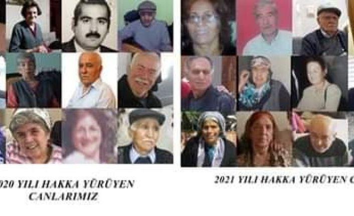 Yukarı Sülmenli Köyünden Pandemi Döneminde Hakka Yürüyenler İstanbul'da Anılacak